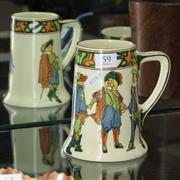 Sale 8362 - Lot 59 - Royal Doulton Four Musketeers Jug