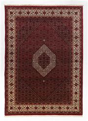 Sale 8770C - Lot 30 - A Persian Bidjar Design Wool And Silk Pile, 343 x 248cm