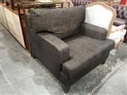 Sale 8896 - Lot 1038 - Oversized Fabric Armchair