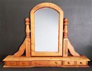 Sale 8979 - Lot 1040 - Pine Dresser Top Mirror (h:94 x w:160cm)