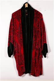 Sale 9015 - Lot 88 - A Venetian Opera Coat Size XL