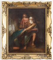 Sale 8435A - Lot 73 - C19th Italian school - The Prodigal Son
