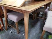 Sale 8480 - Lot 1132 - Retro Oak Dining Table (180cm)