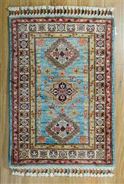 Sale 8717C - Lot 90 - Afghan Super Kazak 92cm x 63cm