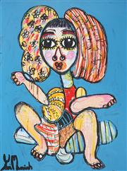 Sale 8880A - Lot 5038 - Yosi Messiah (1964 - ) - Jasmine 100 x 75 cm