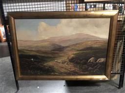 Sale 9152 - Lot 2046 - FRANK BENNETT - Scottish Highlands 104 x 74 cm