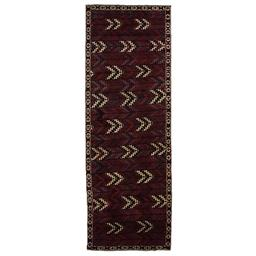 Sale 9141C - Lot 14 - PERSIAN TURKOMAN BELUCH,130X375cm, Handspun Wool