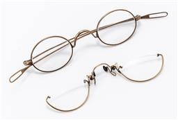 Sale 9190E - Lot 63 - Two vintage spectacles