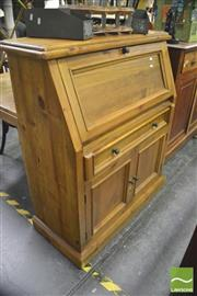 Sale 8392 - Lot 1061 - Timber Drop Front Bureau