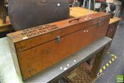 Sale 8406 - Lot 1015 - Timber Railway Storage Box
