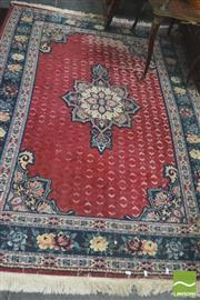 Sale 8418 - Lot 1038 - Machine Made Rug w Losses