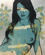 Sale 8527A - Lot 38 - David Bromley (1960 - ) - Lauren 180 x 150cm