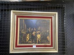 Sale 9101 - Lot 2035 - A Vintage Decorative Print of Rembrandts Night Watch