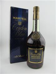 Sale 8353 - Lot 608 - 1x Martell Cordon Bleu Liqueur Cognac - old bottling in box