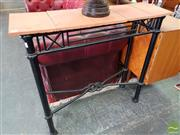 Sale 8469 - Lot 1026 - Metal Hall Table