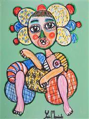 Sale 8880A - Lot 5039 - Yosi Messiah (1964 - ) - Juliette 100 x 75 cm
