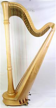 Sale 8940 - Lot 10 - Lyon and Healy American Made Pedal Harp