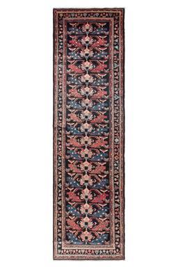 Sale 9141C - Lot 16 - ANTIQUE PERSIAN MALAYER, 115X400CM, HANDSPUN WOOL