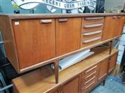 Sale 8476 - Lot 1061 - Very Good Quality Younger Teak Sideboard