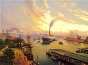 Sale 8492A - Lot 5095 - Joseph Frost (1953 - ) - Sydney Aspect 25 x 34cm