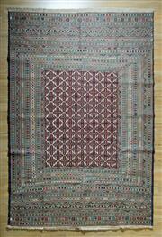 Sale 8653C - Lot 59 - Persian Fine Somak 293cm x 196cm