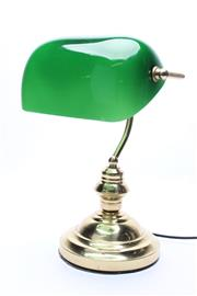 Sale 8706 - Lot 37 - Bankers Style Lamp