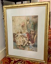 Sale 8804A - Lot 159 - A. Painir - French Courtiers Courting 52cm x 40cm