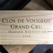 Sale 8876X - Lot 617 - 6x 2015 Olivier Bernstein, Grand Cru, Clos de Vougeot - original timber box