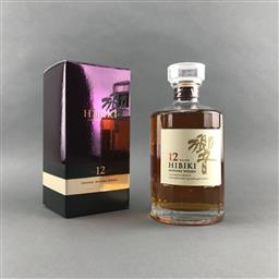 Sale 9120W - Lot 1420 - Hibiki 12YO Blended Japanese Whisky - 43% ABV, 700ml in box