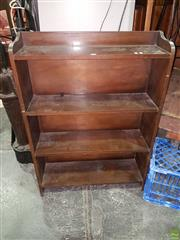 Sale 8570 - Lot 1051A - Oak Open Shelves (107.5 x 75.5 x 21.5cm)