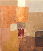 Sale 8722A - Lot 5070 - Gail English (1939 - ) - Santa Fe with Plaster Heart, 2002 122 x 102cm