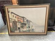 Sale 9072 - Lot 2067 - Artist Unknown - Coastal Scene (87 x 64cm)