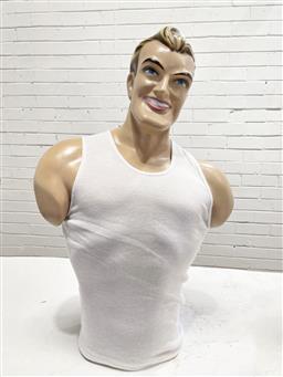 Sale 9134 - Lot 1076A - Chesty Bonds shop mannequin (h:70cm)
