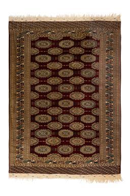 Sale 9141C - Lot 18 - PAK-PERSIAN TURKOMAN, 190x275cm, HANDSPUN WOOL