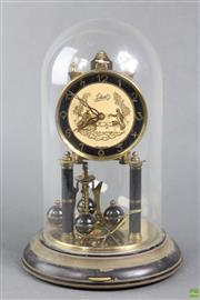 Sale 8599 - Lot 13 - Schatz Dome Clock