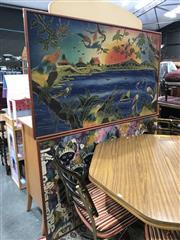 Sale 8811 - Lot 2038 - Set of 2 Framed Balinese Batik Panels