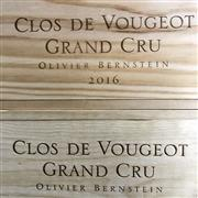 Sale 8876X - Lot 619 - 6x 2016 Olivier Bernstein, Grand Cru, Clos de Vougeot - original timber box