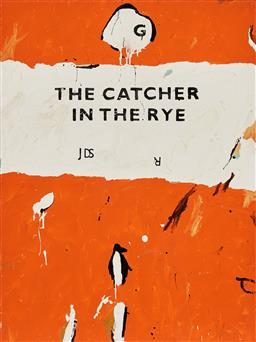 Sale 9221JM - Lot 5038 - BEN TANKARD Unpopular Penguins 58: The Catcher in the Rye oil on canvas 122.5 x 91.5 cm signed, dated and titled verso