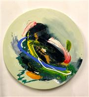 Sale 8336A - Lot 13 - Graham Kuo - THE SILENCE BETWEEN #3 Oil and acylic on canvas