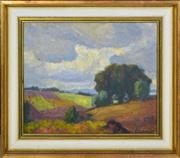Sale 8358 - Lot 577 - Roland Wakelin (1887 - 1971) - North Ryde, 1955 25 x 30cm