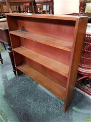 Sale 8570 - Lot 1034 - Slim Timber Open Shelves