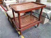 Sale 8672 - Lot 1081 - Inlaid Tea Trolley