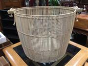 Sale 8851 - Lot 1095 - Wicker Basket with Handles