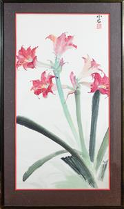 Sale 8882H - Lot 61 - CHINESE SCHOOL - Floral Study signed upper right