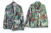 Sale 8952M - Lot 681 - Mostly US Camouflage Collared Shirts Incl Air Force