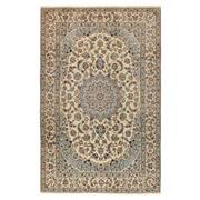 Sale 9082C - Lot 3 - Persian Fine Nain Carpet, 195x305cm, Handspun Persian Wool