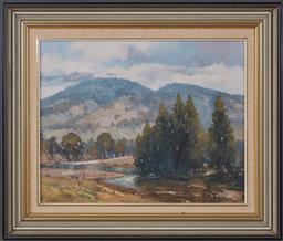 Sale 9098H - Lot 88 - James Wynne - Upper Turon River signed lower left & dated 78