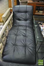 Sale 8392 - Lot 1093 - Pair of Modern Chaise Lounges