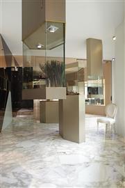 Sale 8402B - Lot 66 - Boucheron Jewellery Shop Display Cabinets (3) - 2160 x 940 x 640cm; 2160 x 1061 x 640cm; 1809 x 1270 x 640cm