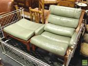 Sale 8412 - Lot 1084 - Tessa T4 Armchair and Footstool